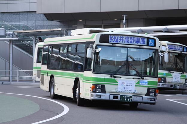 大阪市営バス 36-0772号車 37系統 井高野車庫 行