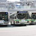 Photos: 大阪市営バス 846号車・645号車・1423号車