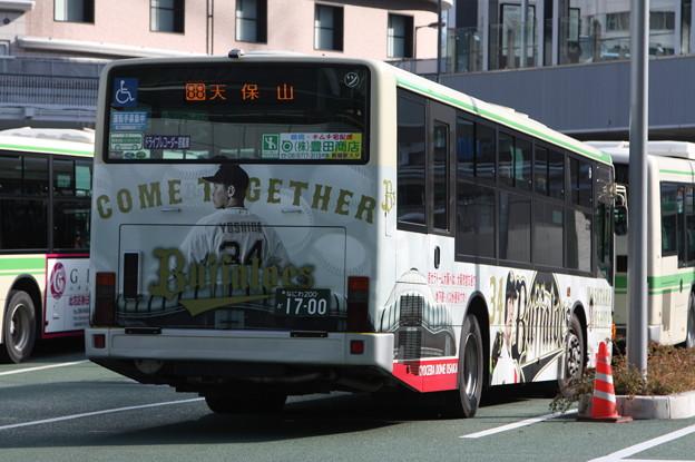 大阪市営バス 62-1700号車 後部