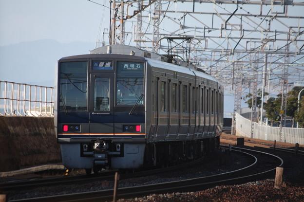 JR神戸線 207系Z12編成 リニュアール車