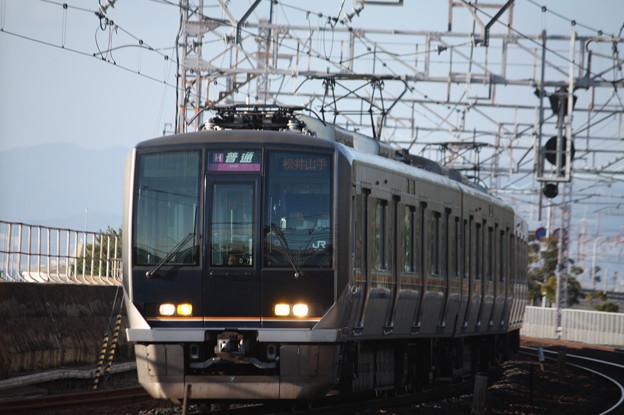 JR神戸線 321系D7編成 (1)