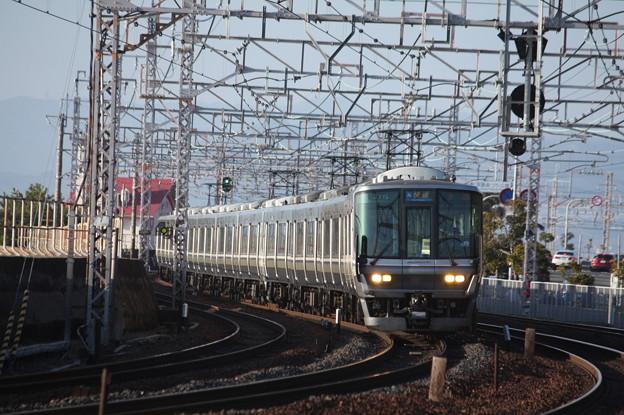 JR神戸線 223系2000番台V38編成