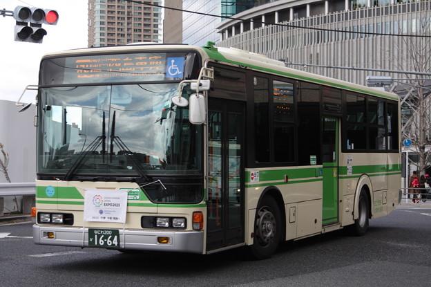 大阪市営バス 62-1664号車