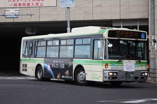 大阪市営バス 77-1100号車