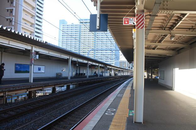 JR神戸線 新長田駅 ホーム