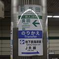 神戸市営地下鉄西神・山手線 新長田駅 駅名標
