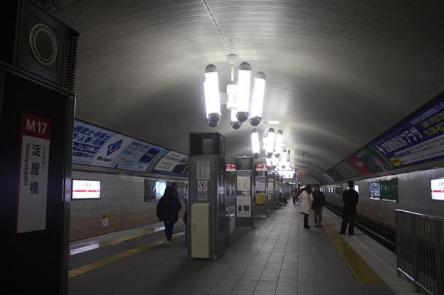 写真: 大阪市営地下鉄御堂筋線 淀屋橋駅 ホーム