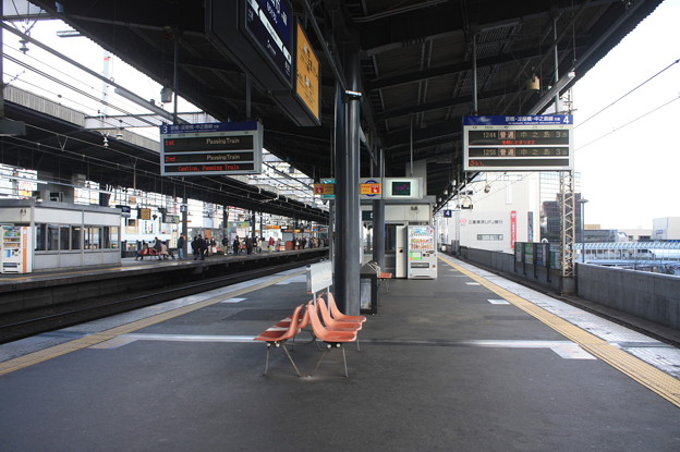 Photos: 京阪本線 守口市駅 ホーム