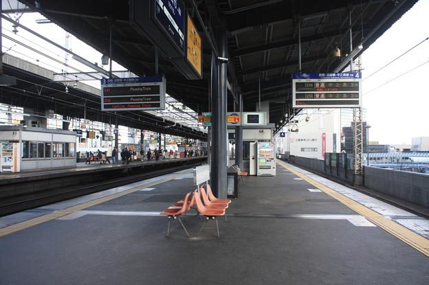 京阪本線 守口市駅 ホーム