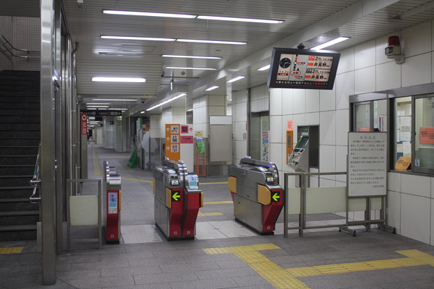 大阪市営地下鉄今里筋線 今里駅 改札口