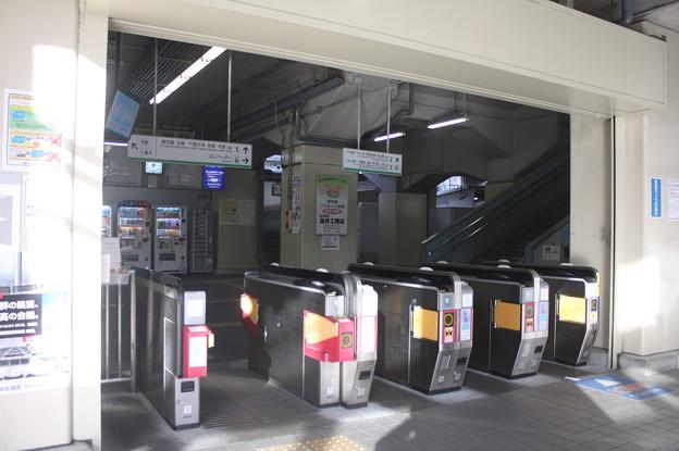 近鉄 今里駅 改札口