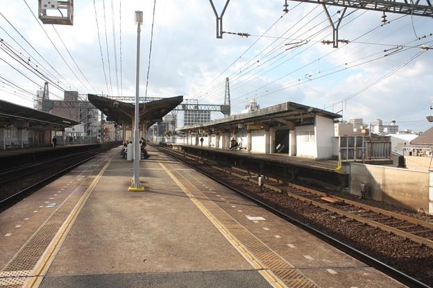 近鉄 今里駅 ホーム