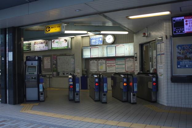 阪急神戸線 御影駅 改札口