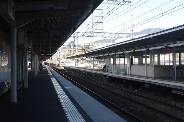 阪急神戸線 御影駅 ホーム