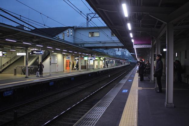 阪急神戸線 十三駅 ホーム