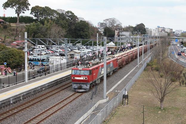 偕楽園駅を通過する5094レ安中貨物 (7)