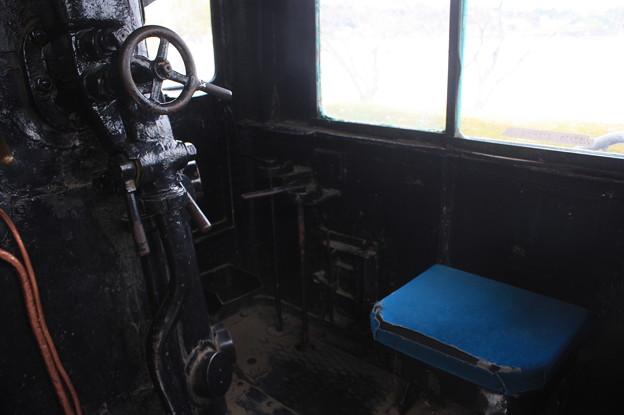 D51 515の運転室 (3)