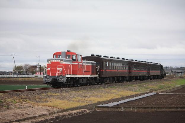 回6100レ DE10 1535+50系客車+C12 66 (11)