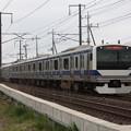 常磐線 E531系K411編成 1152M 普通 品川 行