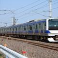 水戸線 E531系K452編成 756M 普通 小山 行