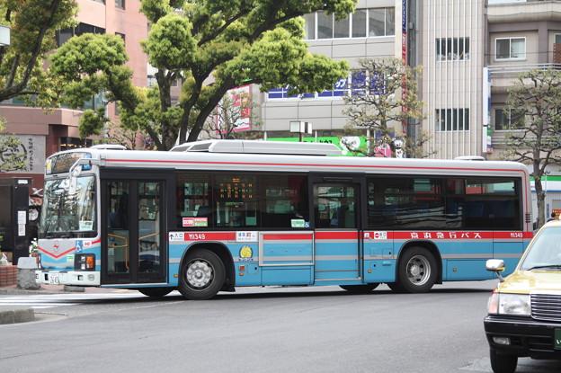 京浜急行バス M1349号車