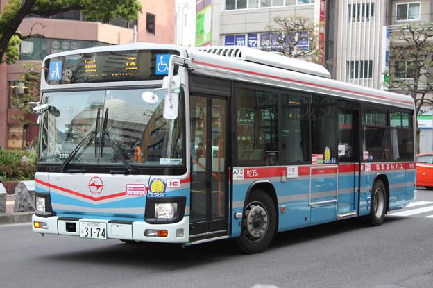 京浜急行バス 新型エルガ M2751号車
