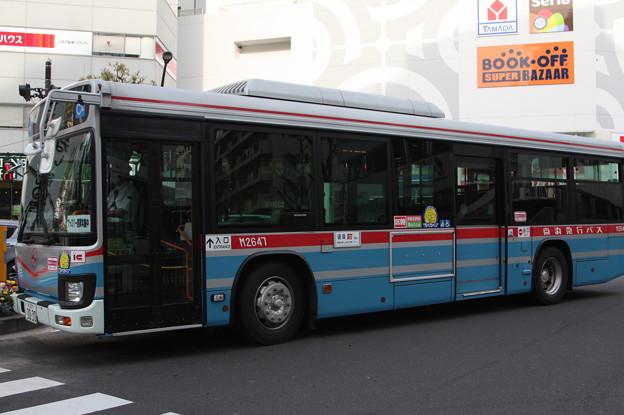 京浜急行バス 新型エルガ M2647号車