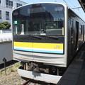 鶴見線 205系1100番台ナハT12編成 終点海芝浦到着
