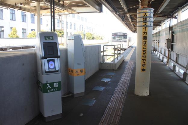鶴見線 海芝浦駅 改札口