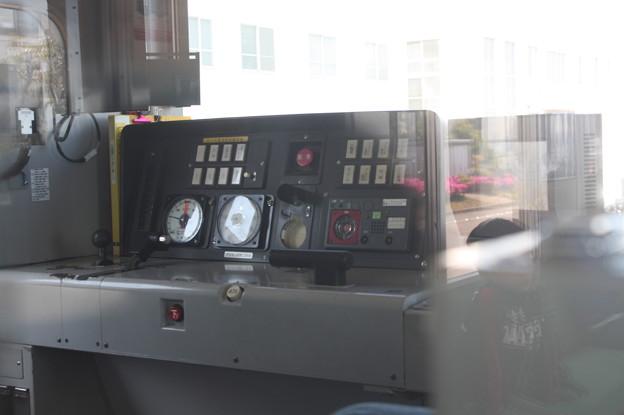 205系1100番台 運転台