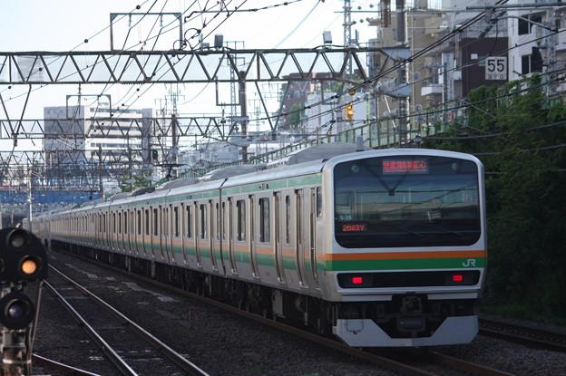 湘南新宿ライン E231系1000番台S-29編成