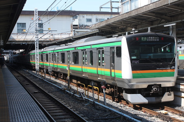 上野東京ライン E233系3000番台U231編成 (1)