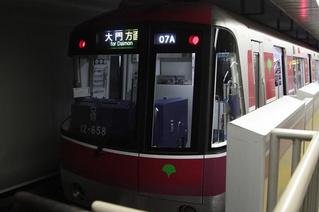 都営地下鉄大江戸線 12-600形12-651F 六本木方面 行