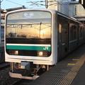水戸線 E501系K752編成 762M 普通 小山 行