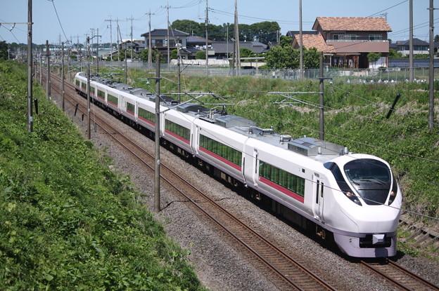 E657系K12編成 74M 特急ときわ74号 品川 行