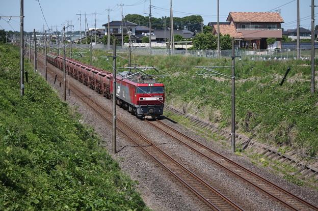 安中貨物 5094レ EH500-37+タキ+トキ