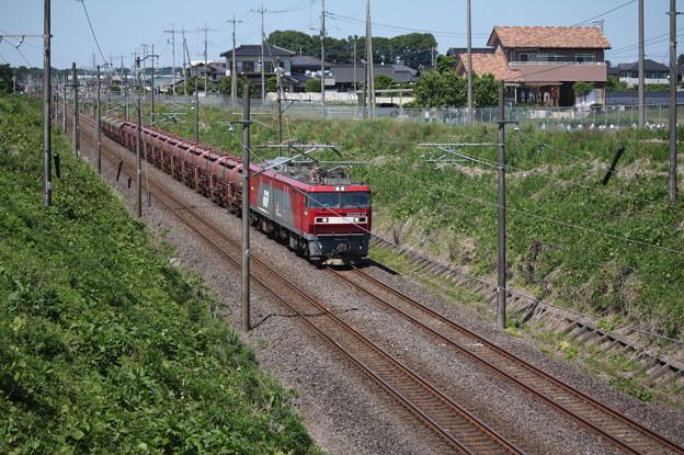 安中貨物 5094レ EH500-37+タキ+トキ (1)