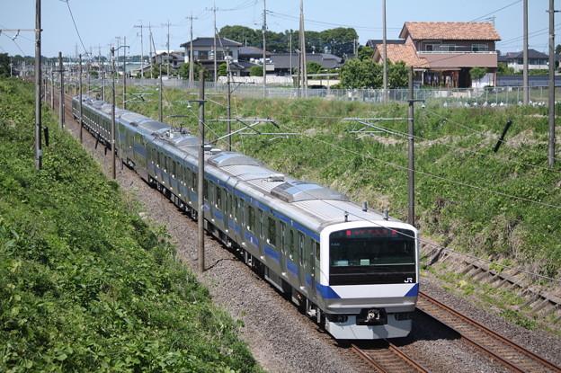 常磐線 E531系K404編成 367M 普通 勝田 行