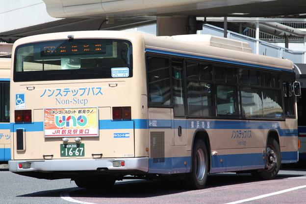 横浜市営バス 4-1602号車 後部