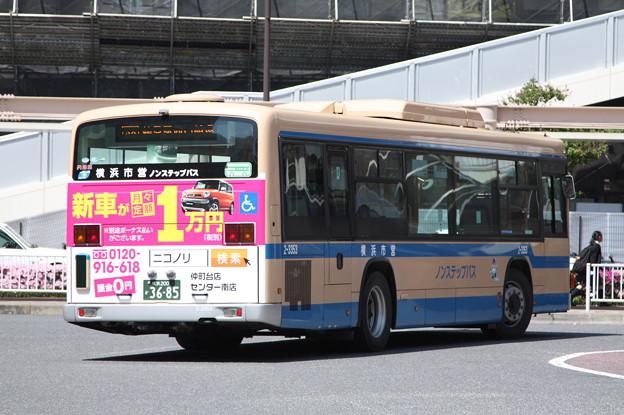 横浜市営バス 2-3353号車 後部