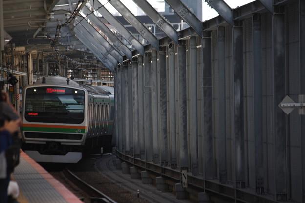 湘南新宿ライン E231系1000番台K‐40編成 9933M 特別快速 小田原 行