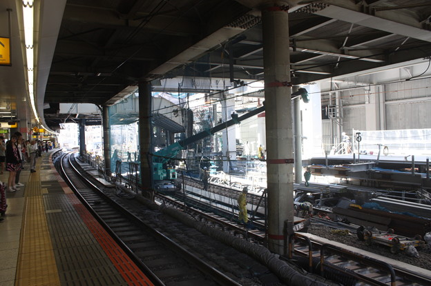 埼京線・湘南新宿ライン渋谷駅線路切替工事の様子 20180603_10