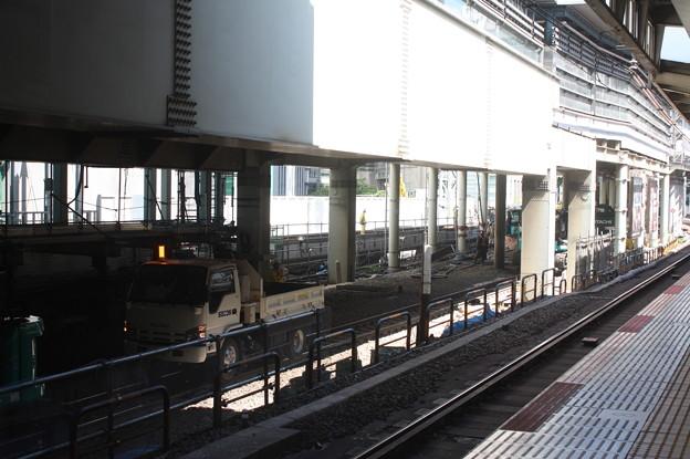 埼京線・湘南新宿ライン渋谷駅線路切替工事の様子 20180603_18