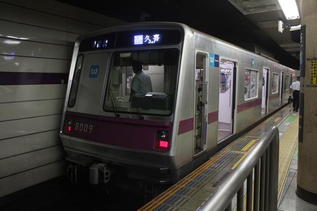 東京メトロ半蔵門線 8000系8109F 普通 久喜 行