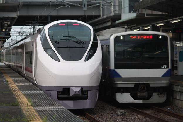 E657系K11編成・E531系K466編成