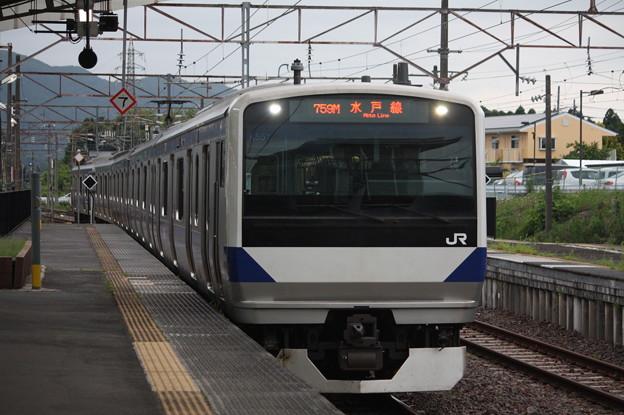 水戸線 E531系3000番台K551編成 759M 普通 友部 行