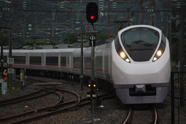 E657系K7編成 9443M 集約臨時列車