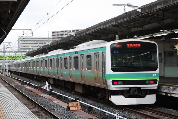 常磐快速線 E231系マト115編成