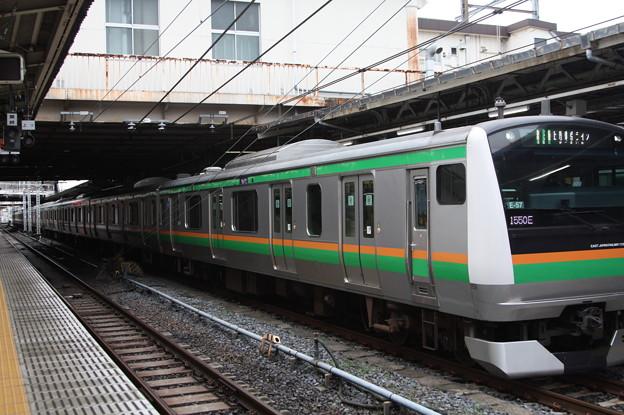 上野東京ライン E233系3000番台E-57編成