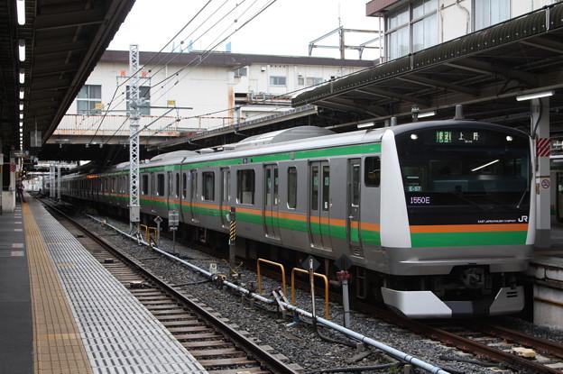 上野東京ライン E233系3000番台E-57編成 (1)